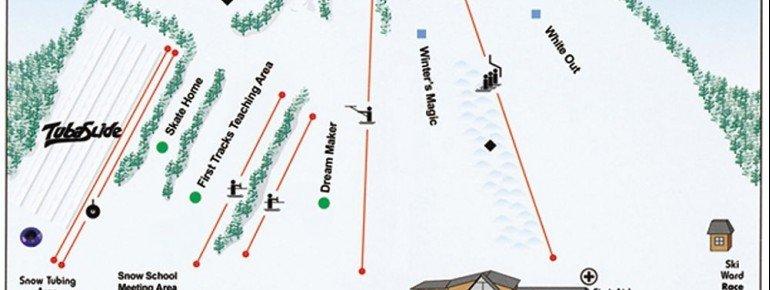 Pistenplan Ski Ward