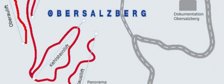 Pistenplan Skiarena Obersalzberg