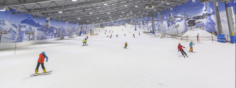 Pistenplan Skihalle Neuss