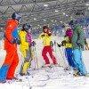 Sowohl Ski- als auch Snowboardkurse werden angeboten.