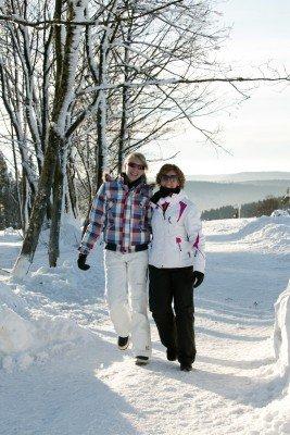 Die Umgebung von Winterberg lädt zum Winterwandern ein