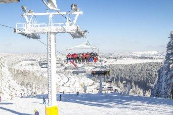 Die Weltcupabfahrt im Skiliftkarussel ist regelmäßig Austragungsort von Weltcup-Rennen.