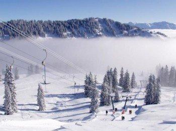 5 verschiedene Skilifte gibt es im Skigebiet.