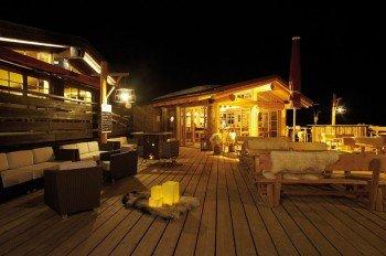 Gemütliches und gleichzeitig modernes Hüttenfeeling erwartet die Besucher an der Grasgehrenhütte.