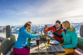 Kulinarischer Hochgenuss am Berg
