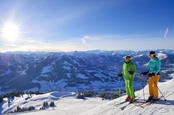 Skifahren in einem der größten und modernsten Skigebiet weltweit