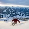 Skifahren mit 360 Grad Panoramablick