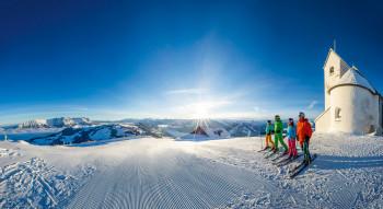Die SkiWelt Wilder Kaiser - Brixental gehört zu den größten Skigebieten der Welt.