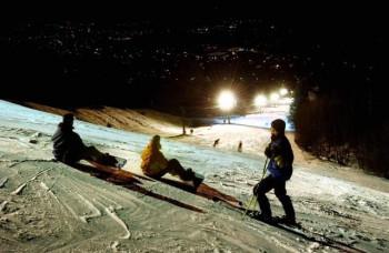 Besonderes Highlight: Nachtskifahren
