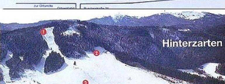 Pistenplan Skizentrum Thoma Hinterzarten