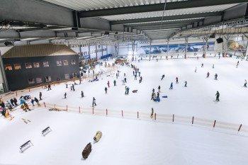 Der Snow Dome besteht aus einer 23.500 m² großen Schneefläche
