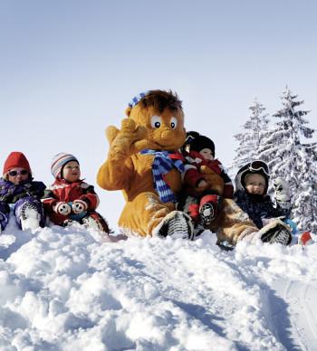 Kinder lieben Wagraini und seine Winterwelt.