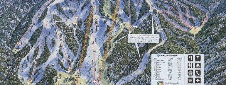 Pistenplan Snow Summit