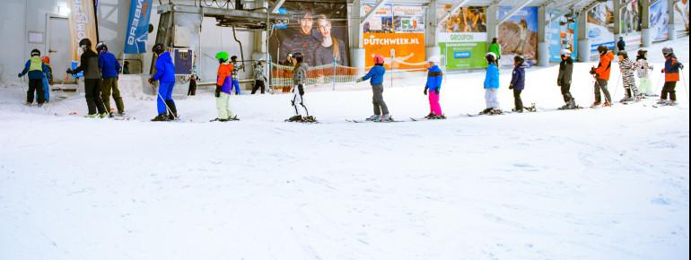 Pistenplan SnowWorld Amsterdam