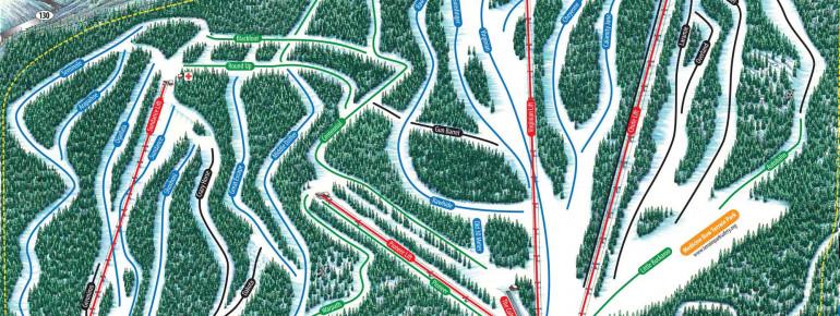 Pistenplan Snowy Range Ski Area