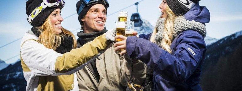 Après-Ski darf bei einem Sölden-Besuch nicht fehlen.