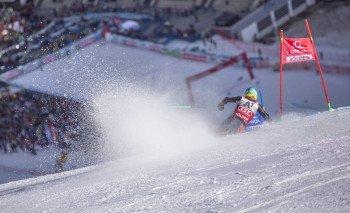 Die besten Skifahrer der Welt messen sich jedes Jahr beim Rennen in Sölden.