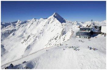 Das Skigebiet am Gaislachkogel