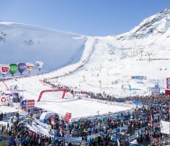 Das Highlight des Jahres in Sölden: der Weltcup-Auftakt Ende Oktober.