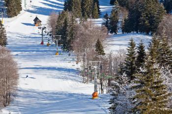 Ein Sessellift, drei Schlepplifte und ein Seillift sorgen für die Beförderung auf den Berg.