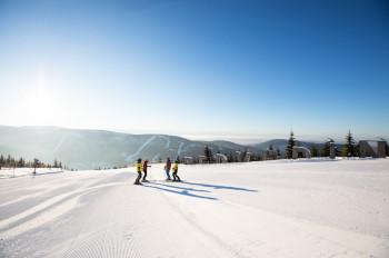 Das Wintersportgebiet liegt auf einer Höhe von 702 bis 1.235 Meter.