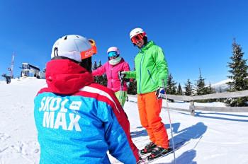 Auch drei Skischulen gibt es in Spindlermühle.