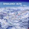 Pistenplan Spindlermühle - Špindlerův Mlýn