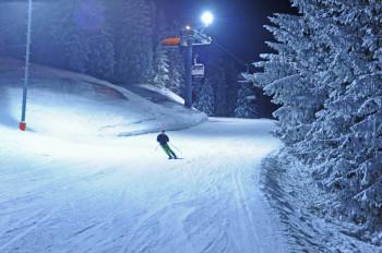 Nachtskifahren: Immer donnerstags und freitags von 18:30 bis 21:30 Uhr auf frisch präparierter Piste