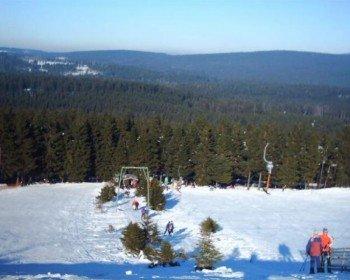 Das Skigebiet im Harz bietet Abfahrten für alle Könnerstufen