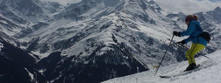 Auch im April herrschen in Sankt Anton am Arlberg noch Top-Pistenbedingungen