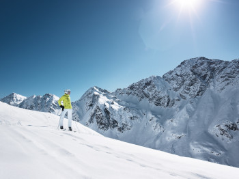 Skifahren vor einmaliger Kulisse und abseits des Massentourismus.