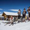 Möglichkeiten für eine gemütliche Pause gibt es im kleinen aber feinen Skigebiet mehr als genug