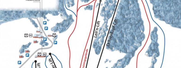 Pistenplan St Jakob im Walde