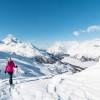 Lake Trail – mit Schneeschuhen auf Furtschellas