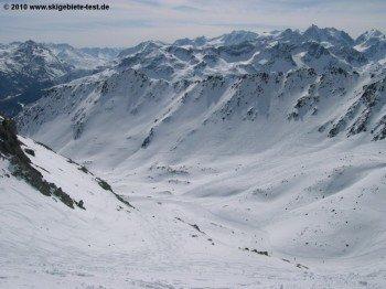 Panoramablick im Val Schlattaln!