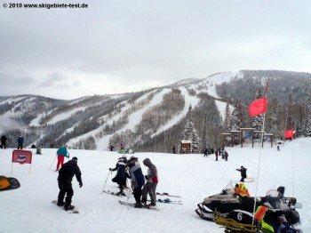 """An der Bergstation der """"Gondola""""!"""