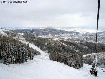 "Storm Peak North-Abfahrt unterhalb des ""Storm Peak Express""!"