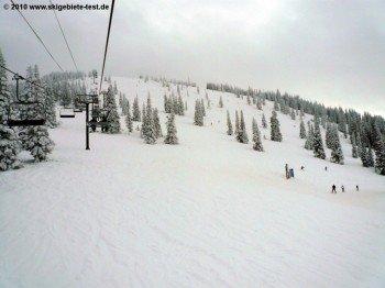 """Storm Peak North""-Abfahrt!"