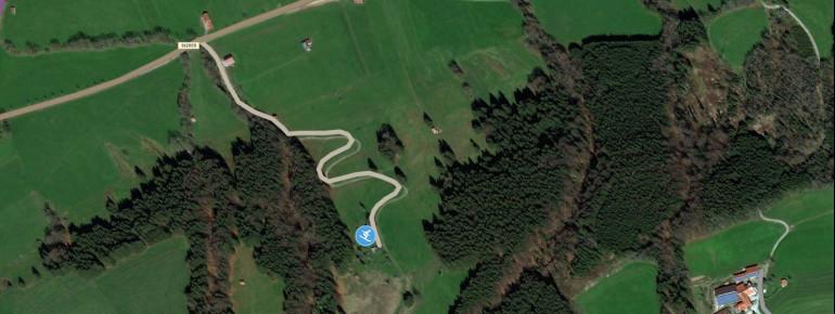 Pistenplan Ilgenlift Steingaden