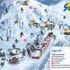 Pistenplan Skigebiet Stoderzinken