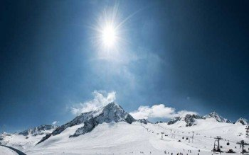Der Stubaier Gletscher ist das größte Gletscherskigebiet Österreichs.