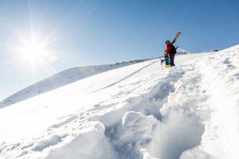 Besten Powder gibt's am Stubaier Gletscher