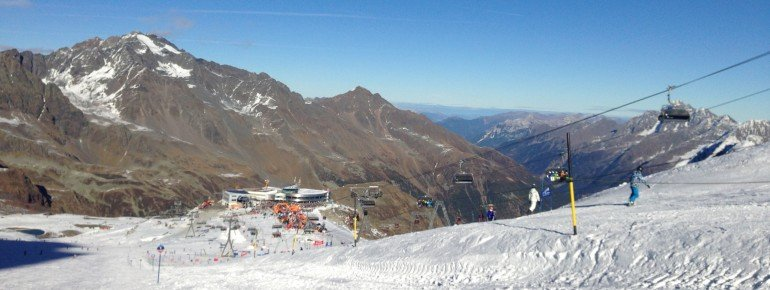 Restaurant Eisgrat auf 2900 m