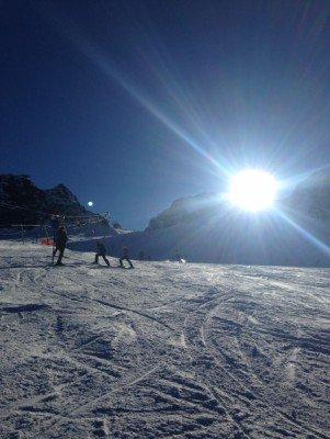 Blick zur Wildspitze (3.340 m)
