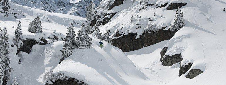 Im Februar 2016 betrug die durchschnitlliche Schneehöhe am Stubaier Gletscher 245cm - fast alles Naturschnee!