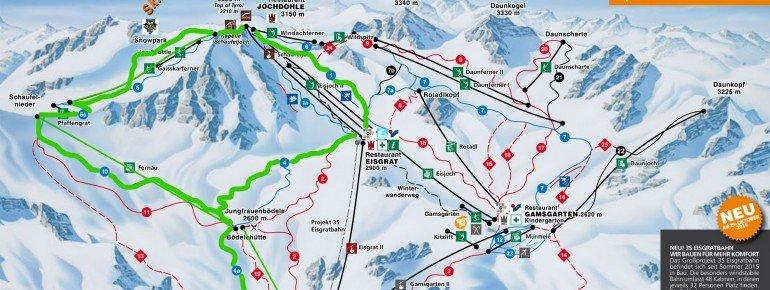 Leichte Skirunde um die Schaufelspitze