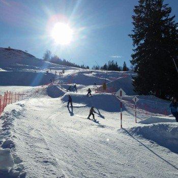 Freeridecross in der Actionwelt Sudelfeld