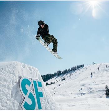 Snowpark-Session in der Actionwelt Sudelfeld