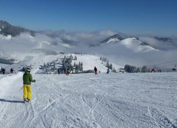 Traumhafte Abfahrten im Skiparadies Sudelfeld