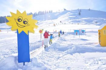 Schneespaß im SNUKI-Kinderland